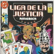 Cómics: ZINCO. LIGA DE LA JUSTICIA. AM�RICA. 37.. Lote 271166778