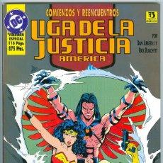 Cómics: ZINCO. LIGA DE LA JUSTICIA. COMIENZOS. 3.. Lote 271167173