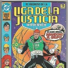 Cómics: ZINCO. LIGA DE LA JUSTICIA. EL REGRESO. 2.. Lote 271167358