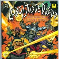 Cómics: ZINCO. LOBO. JUDGE DREDD. JUEZ.. Lote 271167483
