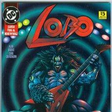 Cómics: ZINCO. LOBO. LARGA VIDA AL ROCK AND ROLL.. Lote 271168083