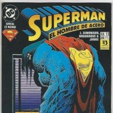 Fumetti: ZINCO. SUPERMAN EL HOMBRE DE ACERO. 12.. Lote 271168673