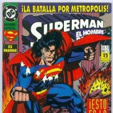 Fumetti: ZINCO. SUPERMAN EL HOMBRE DE ACERO. 13.. Lote 271169263