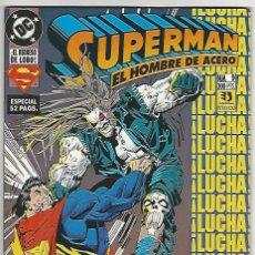 Fumetti: ZINCO. SUPERMAN EL HOMBRE DE ACERO. 9. Lote 280853318
