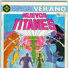 Cómics: ZINCO. NUEVOS TITANES. ESPECIAL VERANO.. Lote 271171518