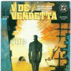 Cómics: ZINCO. V DE VENDETTA. 3. Lote 271191218