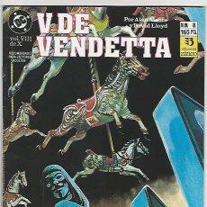Cómics: ZINCO. V DE VENDETTA. 8. Lote 271191233