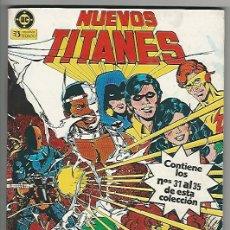 Cómics: ZINCO. NUEVOS TITANES. RETAPADOS. 07.. Lote 271191293