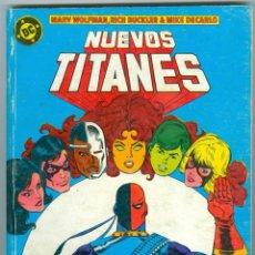 Cómics: ZINCO. NUEVOS TITANES. RETAPADOS. 09.. Lote 271191513