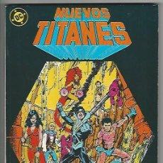 Cómics: ZINCO. NUEVOS TITANES. RETAPADOS. 08.. Lote 271200158