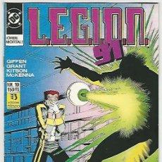 Cómics: ZINCO. LEGI�N 91-92. 10.. Lote 271216378