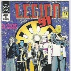 Cómics: ZINCO. LEGI�N 91-92. 9. Lote 271225523
