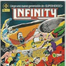 Cómics: ZINCO. INFINITY INC. 4. Lote 271238423