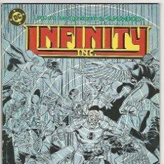 Cómics: ZINCO. INFINITY INC. 9. Lote 271238443
