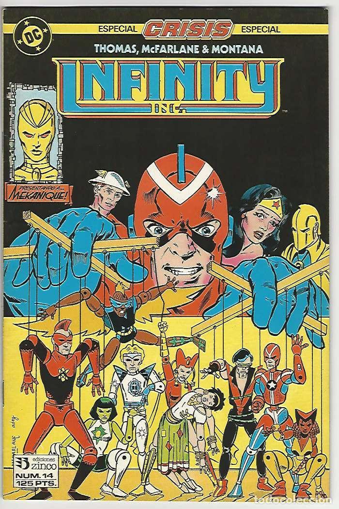 ZINCO. INFINITY INC. 14. (Tebeos y Comics - Zinco - Infinity Inc)