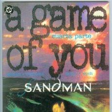 Cómics: ZINCO. SANDMAN. A GAME OF YOU. 4.. Lote 271242868