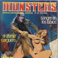 Comics : ZINCO. MONSTERS. 22.. Lote 271263328