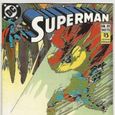Cómics: ZINCO. SUPERMAN 1987-1996. 81. Lote 271305783