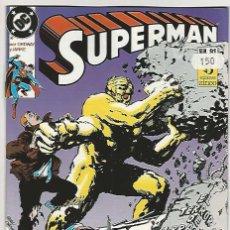 Cómics: ZINCO. SUPERMAN 1987-1996. 91. Lote 271305803