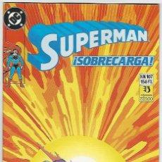 Cómics: ZINCO. SUPERMAN 1987-1996. 107.. Lote 271305823