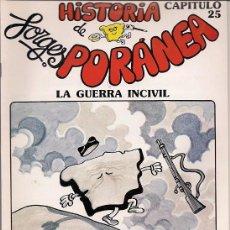 Comics: ZINCO. HISTORIA DE ESPA�A. FORGESPORANEA. 25.. Lote 271317148