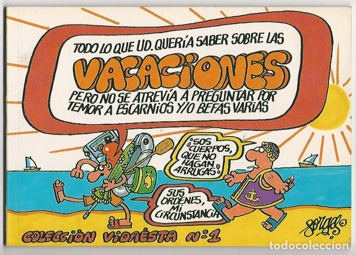 ZINCO. COLECCI�N VIDAESTA. 1. (Tebeos y Comics - Zinco - Otros)