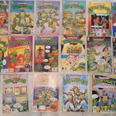 Cómics: LOTE 16 COMIC TEBEO TORTUGAS NINJA ZINCO 1990 POSTER 1,3,4 Y 7,30,31,32,42,43,44,47,48,49,51,56,59. Lote 271397553