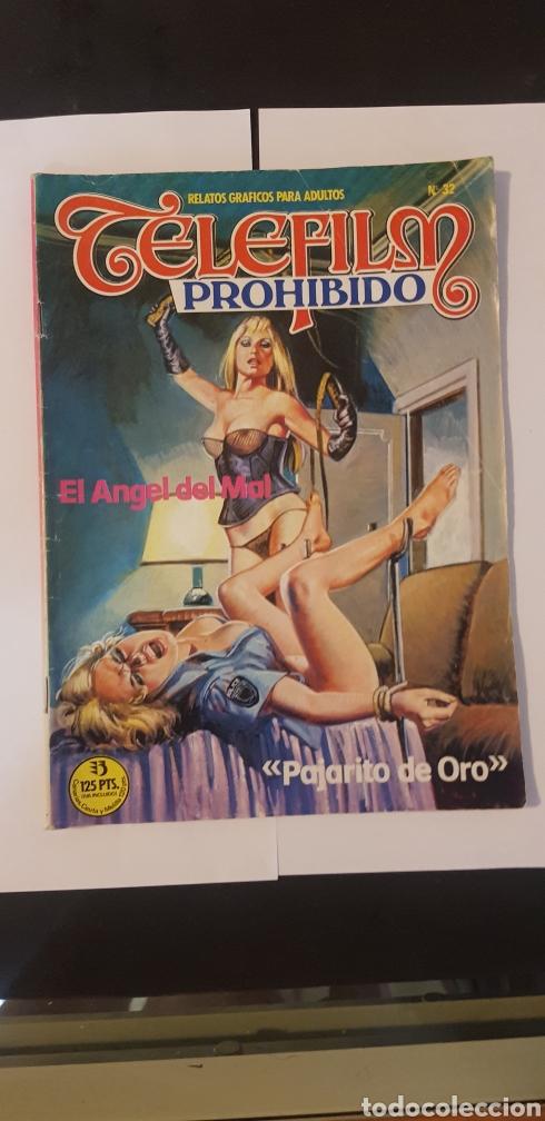 COMIC RELATO GRAFICOS PARA ADULTOS TELEFIM EL ANGEL DEL MAL N 32 (Tebeos y Comics - Zinco - Otros)