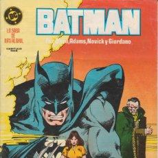 Cómics: CÓMIC ` BATMAN - LA SAGA DE RA´S AL GHUL ´ Nº 19 ED. ZINCO 1988. Lote 271983798
