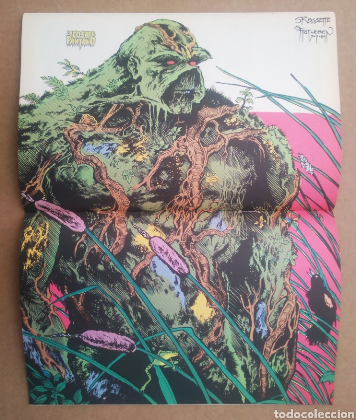 Cómics: La Cosa del Pantano n°1 (Zinco, 1988). Swamp Thing. Por Alan Moore, Stephen Bissette y John Totleben - Foto 2 - 272369468