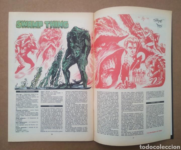 Cómics: La Cosa del Pantano n°1 (Zinco, 1988). Swamp Thing. Por Alan Moore, Stephen Bissette y John Totleben - Foto 3 - 272369468