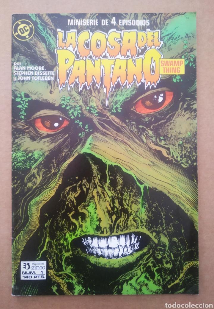 LA COSA DEL PANTANO N°1 (ZINCO, 1988). SWAMP THING. POR ALAN MOORE, STEPHEN BISSETTE Y JOHN TOTLEBEN (Tebeos y Comics - Zinco - Cosa del Pantano)