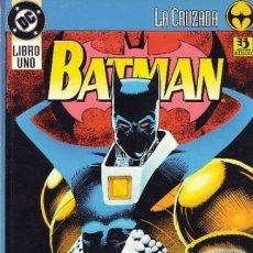 Cómics: BATMAN LA CRUZADA. 3 TOMOS . ZINCO. 300 PAGINAS. Lote 272454358