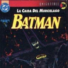 Cómics: BATMAN LA CAIDA DEL MURCIELAGO TOMOS . ZINCO. 350 PAGINAS. Lote 272454683
