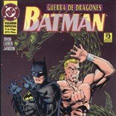 Cómics: BATMAN GUERRA DE DRAGONES. ZINCO. 112 PAGINAS. Lote 272457083
