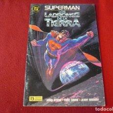 Cómics: SUPERMAN LOS LADRONES DE LA TIERRA ( BYRNE SWAN ) DC ZINCO. Lote 272563288