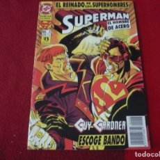 Cómics: SUPERMAN EL HOMBRE DE ACERO Nº 2 EL REINADO DE SUPERHEROES ( STERN ) ¡BUEN ESTADO! DC ZINCO. Lote 272564378
