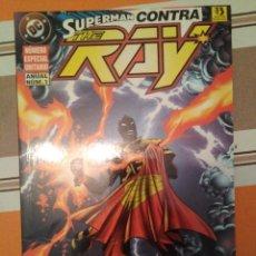 Fumetti: SUPERMAN CONTRA THE RAY - DC COMIC ANUAL NUM 1 ZINCO PEDIDO MINIMO 3€. Lote 272708393