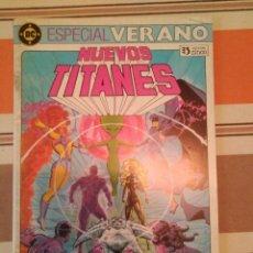 Cómics: NUEVOS TITANES - ESPECIAL VERANO - DC ZINCO PEDIDO MINIMO 3€. Lote 272712218