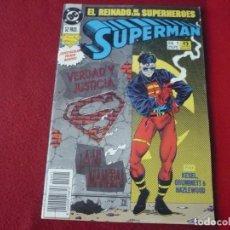 Cómics: SUPERMAN Nº 1 EL REINADO DE LOS SUPERHEROES ( KESEL ) ¡BUEN ESTADO! DC ZINCO. Lote 272847378