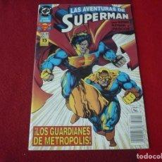 Cómics: SUPERMAN Nº 11 ( KESEL) LOS GUARDIANES DE METROPOLIS ¡BUEN ESTADO! DC ZINCO 1994. Lote 272848078