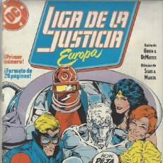 Cómics: LIGA DE LA JUSTICIA EUROPA - COMPLETA A FALTA DEL NUMERO 33 - BUEN ESTADO. Lote 272864988