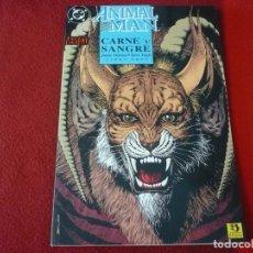 Fumetti: ANIMAL MAN CARNE Y SANGRE Nº 3 ( DELANO PUGH ) ¡BUEN ESTADO! DC ZINCO TRES. Lote 273399403