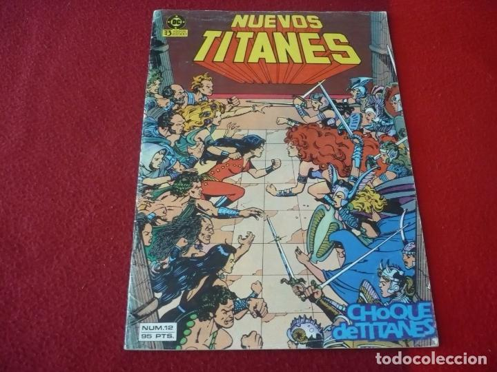NUEVOS TITANES VOL. 1 Nº 12 ( WOLFMAN GEORGE PEREZ ) DC ZINCO (Tebeos y Comics - Zinco - Nuevos Titanes)