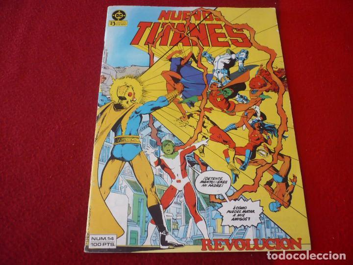 NUEVOS TITANES VOL. 1 Nº 14 ( WOLFMAN GEORGE PEREZ ) DC ZINCO (Tebeos y Comics - Zinco - Nuevos Titanes)
