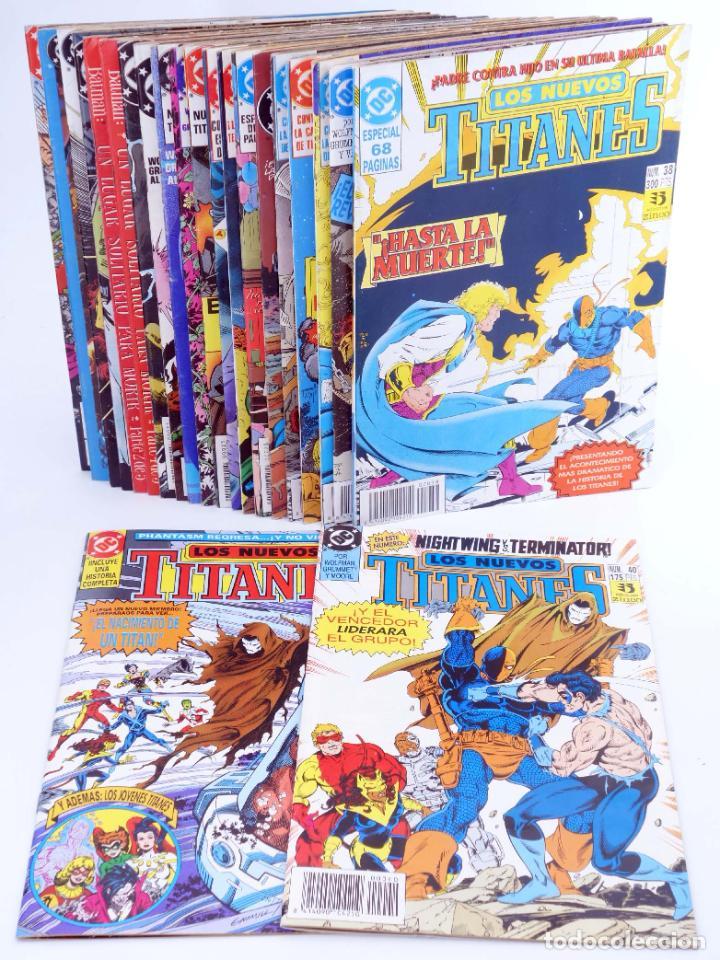LOS NUEVOS TITANES. LOTE DE 22 NÚMEROS (MARV WOLFMAN / GEORGE PÉREZ) ZINCO, 1990. OFRT (Tebeos y Comics - Zinco - Nuevos Titanes)