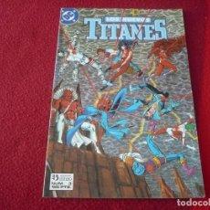 Comics : LOS NUEVOS TITANES VOL. 2 Nº 3 ( WOLFMAN GEORGE PEREZ ) ¡MUY BUEN ESTADO! DC ZINCO. Lote 273907553