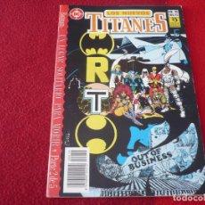 Comics : LOS NUEVOS TITANES VOL. 2 Nº 19 ( WOLFMAN GEORGE PEREZ ) ¡MUY BUEN ESTADO! DC ZINCO. Lote 273976873