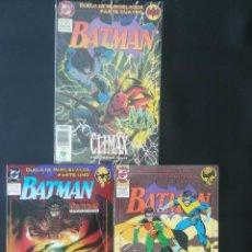 Cómics: BATMAN DUELO DE MURCIELAGOS 1,2,4. Lote 274184673