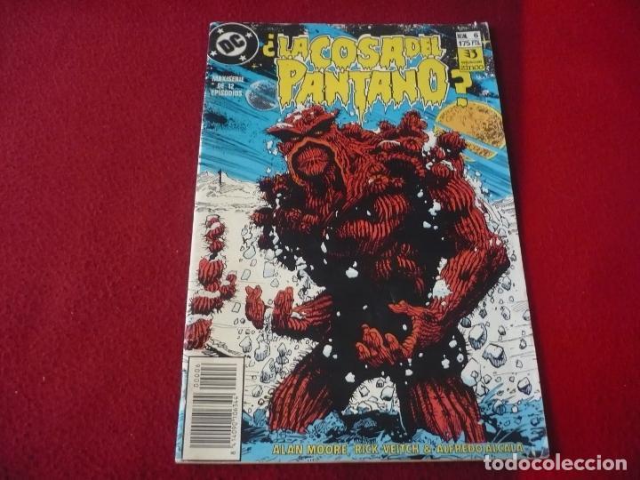 LA COSA DEL PANTANO Nº 6 MAXISERIE ( ALAN MOORE VEITCH ALCALA ) ¡BUEN ESTADO! DC ZINCO (Tebeos y Comics - Zinco - Cosa del Pantano)